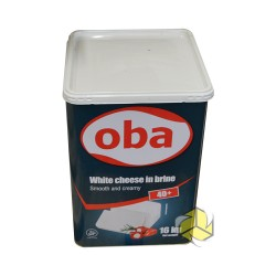 Oba   white cheese in birne