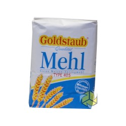 Goldstaub Mehl