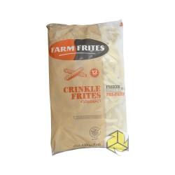 Pommes Frites Crinkle Frites