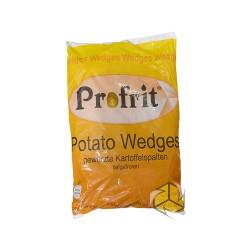 Profrit gewürzte Kartoffelspallten